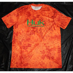 Huk Performance Kryptek Camo Short Sleeve Shirt